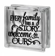 Glasblok - Every family has a story