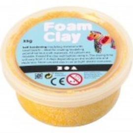 Foam Clay geel - 35gr