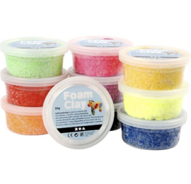 Foam Clay pakket basis kleuren - 10x35gr