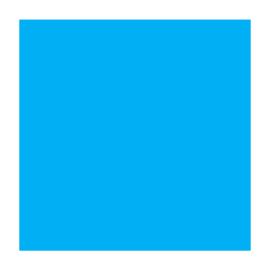 Puff flexfolie - 8303 Neon Blue