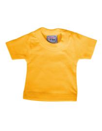 Mini t-shirt (zonder hanger) - yellow