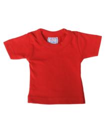 Mini t-shirt (zonder hanger) - rood