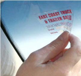 Permanente stickerfolie voor laserprinter - 75 gram - Transparant - A4