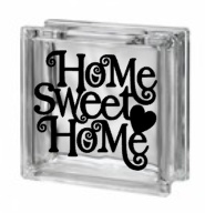 Glasblok - Home sweet home