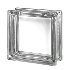 Transparant glasblok met opening - ENKEL AFHALING!!