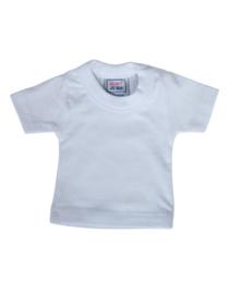 Mini t-shirt (zonder hanger) - wit