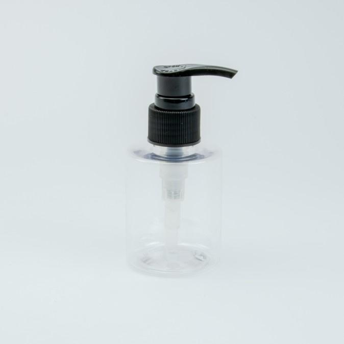 Zeepdispenser Cylinder/Zwart - 100 Ml