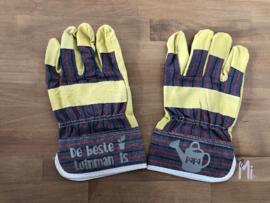 Handschoenen de beste tuinman is...
