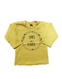 """Shirt """" Opa's schatje"""""""