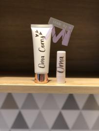 Set lippenbalsem met handcreme wit