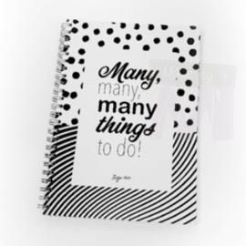 Zusje-van Many things to do notitieboek