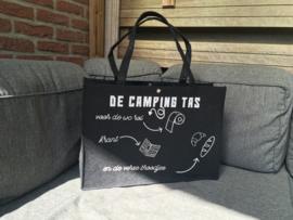 "Vilten tas "" De camping tas"""
