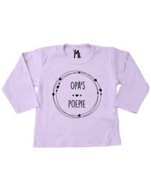 """Shirt """" Opa's poepie"""""""