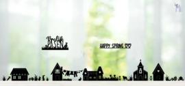 Straatje voorjaar/pasen