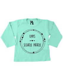 """Shirt """" Opa's schatje patatje"""""""