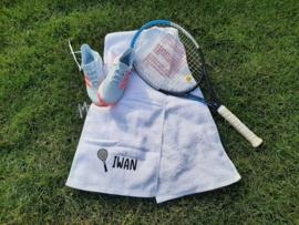 Tennis sjaal met naam