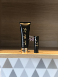 Set lippenbalsem en handcreme zwart