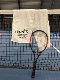 Tennis sjaal met tekst