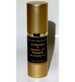 Tester Egypt Wonder poeder en Make up Primer Medium