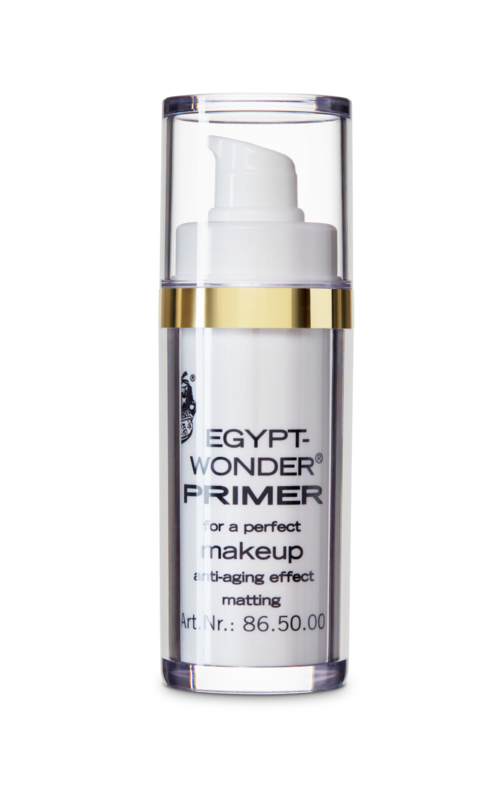 Tester Egypt Wonder poeder en Make up Primer  Kleurloos
