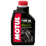 Motul FORK OIL EXP L 5W FORK OIL EXP LIGHT 5W Hydraulische vloeistof voor elk type telescopische voorvork. Application: Shock & Fork smeermiddelen Quality: Technosynthese Product Range: Motorfiets Viscosity: 5W