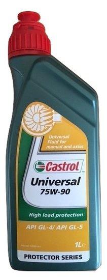 Castrol Gear Oil Universal 75W-90 1 LTR Art nr 83011555BD.