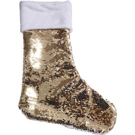 Glitter kerstsok