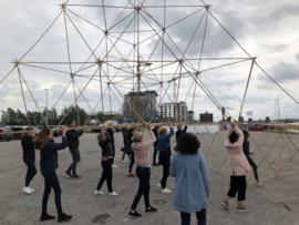 Piramide bouwen (Teambuilding)
