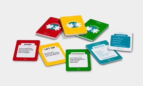 Dialoogkaarten (10 x 4 kaarten)