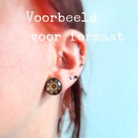 Fractal oorbellen (5)