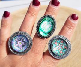Vintage ringen rond (2)