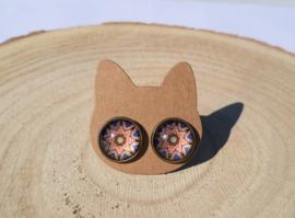 Mandala oorbellen (3)