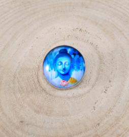 Speld Boeddha Groot Blauw