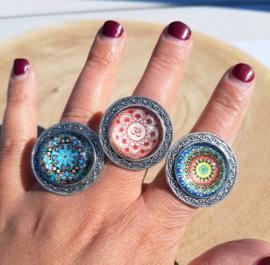 Vintage ringen rond