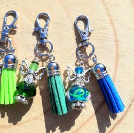 NIEUW: Beschermengeltjes 'geluk' - blauw en groen