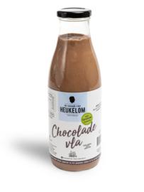 De smaak van Heukelom Chocolade Vla 750 ml
