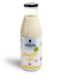 De smaak van Heukelom Vanille Vla 750 ml