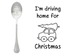"""Driving home for Christmas"""