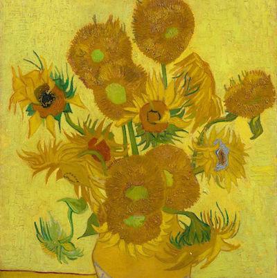 Bloemen van Van Gogh