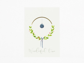 Kaart | Wonderful time | Dreamkey Design x Mevr. Knot