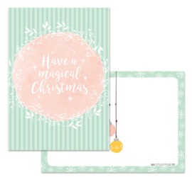Kaart   Magical Christmas   Little Lefty Lou