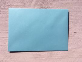 Envelop | 110 x 156 mm EA6 | laguneblauw