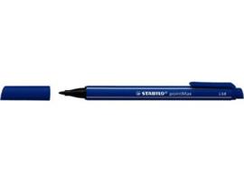 Viltstift | ultramarijn | Stabilo pointMax