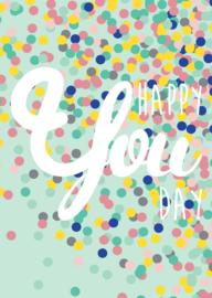 Kaart | Happy you day | Studio Inktvis