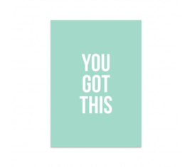 Kaart | You got this | Studio Stationery