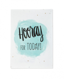 Bloeikaart | Hooray for today | Kekootje
