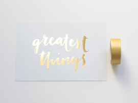 Kaart | Greatest Things | Dreamkey Design