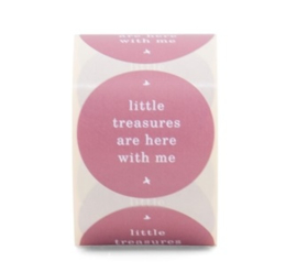 Sticker | little treasures are here with me | oudroze