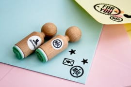 Mini stempel | Mail | Miss Honeybird