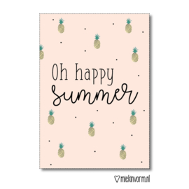 Kaart | Oh happy summer | MIEKinvorm